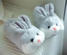 Cute Women's Warm Bunny Slippers Soft Plush Non Slip Home Indoor Plush Shoes