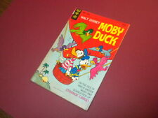 MOBY DUCK - WALT DISNEY #8 Gold Key Comics 1970