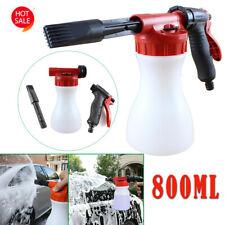Car Snow Foam Gun Bottle Sprayer for Garden Hose Window Soap Cleaning Washing HK