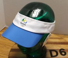 NWT RIO 2016 OLYMPICS HAT BLUE/WHITE ADJUSTABLE MSRP $40.99 SELL ONLY $16.99 D6