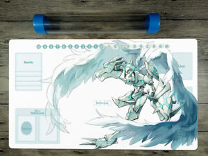 Digimon Adventure Omegamon Playmat Trading Card Game Omnimon Mat Free Best Tube