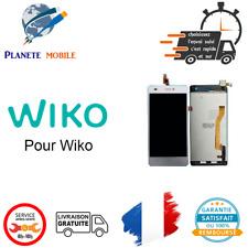 Ecran LCD + Vitre Tactile Wiko Pour Highway Blanc