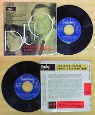 LP 45 7'' JULIETTE GRECO EDDIE CONSTANTINE Je prends le choses bon no cd mc dvd