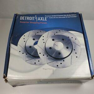Detroit Axle: S-55174LR Front Brake Rotors Chevy Equinox 2010-2012 LS, LT