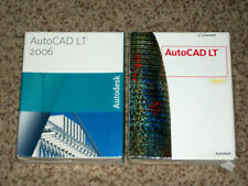 Autodesk AutoCAD LT 2006 Full Version Software & AutoCAD LT 2008 Upgrade Windows