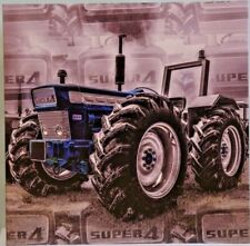 Ford Super 4 Tractor farming greetings, Birthday, Celebration card