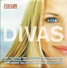 DIVAS - VARIOUS ARTISTS - NoW PROMO MUSIC CD