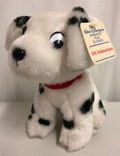 "Walt DISNEY 101 DALMATIANS Vintage Polka Dot Dog 7"" Plush Toy NEW!!"