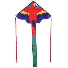 "Delta Kids Kite Parrot 45"" x 84"" + Line + Tails + Carry Bag R2F"