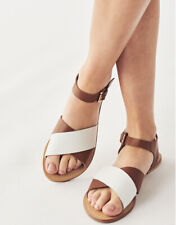 New Crew Clothing Womens Daisy Leather Sandal in