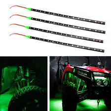 "4pcs Waterproof 12"" Flexible Strip Light Fit For ATV UTV Off-road Car Green"