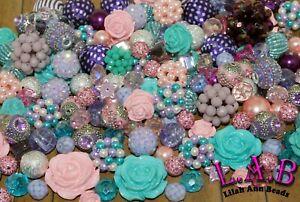 """""""Periwinkle Petals"""" 30 Piece Lilah Ann Bead Mix BM320"""