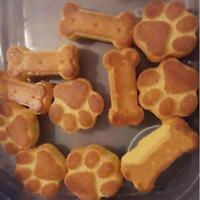 Pet Paw Bone Homemade Treat Dog Cat Chocolate Silicone Mold Candy Ice Cube DIY W