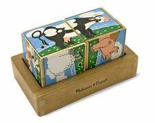 Kids Toy Game Farm Sound Blocks - 11196 - Melissa and Doug