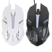 #QZO 2400 DPI LED Optical 6D USB Wired Gaming Mouse Mini Game Mice For PC Laptop