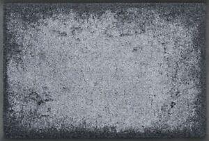 KLEEN-TEX wash+dry Wohnmatte / Fußmatte Shades of Grey  019957 ca. 50 x 75cm