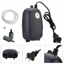 Air Bubble Disk Stone Aerator Aquarium Pond Pump Hydroponic Oxygen Fish Tank Abs