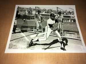 "Willie Mays San Francisco Giants 1970's 8"" x 10"" Photo Spring Training"