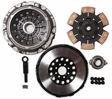 QSC Stage 3 Ceramic Clutch Kit & Chromoly Flywheel 00-05 Eclipse GT GTS 3.0L V6