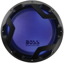 "Boss Audio PD12LED Phantom 12"" Woofer Featuring LED Illumination, Dual 4 Ohm VC"