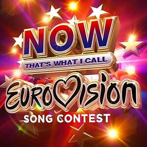 NOW That's What I Call Eurovision Song Contest~3CD~New~Box Set