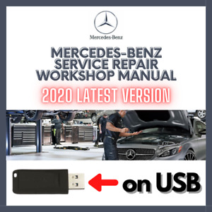 For Mercedes Benz ALL MODELS 1986-2020 Service Repair Workshop Manual on USB