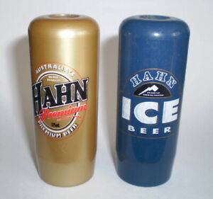 2 Vintage beer tap tops -  Hahn Premium & Hahn Ice