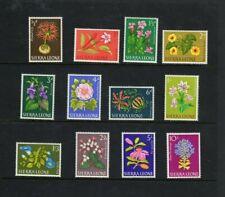 Sierra Leone 1963 flowers set to 10/-mint