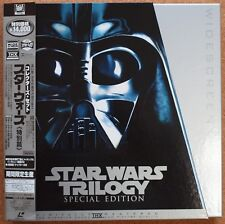 STAR WARS TRILOGY Special Edition COLLECTOR'S SET LD Laser Disc PILF-2434 JAPAN