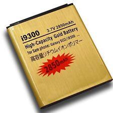 Gold Battery 3.7v 2850mah Samsung Galaxy S3 SIII SGH-i747m SGH-T999V GT-i9300