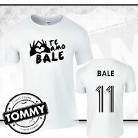 Gareth Bale Real Madrid T-Shirt, Te Amo Bale, Bale 11 Wales Funny T-Shirt