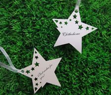 50pcs Wedding Wishing Tree Tags Classic Star Tags Place cards,Gift cards