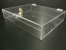 Displays2buy Acrylic Countertop Display 16 X 13 X 3 Locking Security Showcase