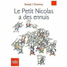 Le Petit Nicolas a des ennuis Folio Junior French Edition