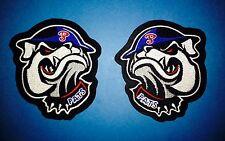 2 Lot Regina Pats WHL CHL Hockey CCM / Maska Shoulder Jersey Crests Patches A
