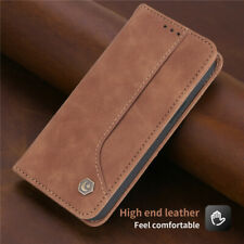 For iPhone 12 11 Pro Max SE XR XS X 8 7 Magnetic Leather Wallet Flip Case Cover
