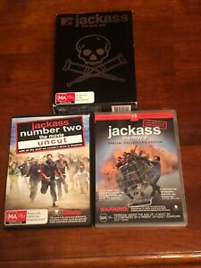 Jackass complete plus Movie 1 and 2