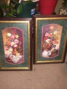 """Home Interior Pictures """"Portrait Of Roses"""""""