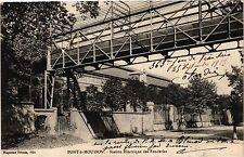 CPA Pont a Mousson - Station Electrique (276782)