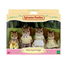 Sylvanian families family set 4172 walnut squirrel family/3+ brand new in box