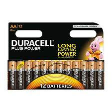 12 Pack of Duracell AA Plus Power Alkaline AA Battery MN1500 LR6 - VALUE PACK