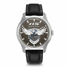 Harley Davidson 76A160 Men's 115th Anniversary Style Wristwatch