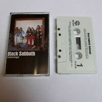 BLACK SABBATH SABOTAGE CASSETTE TAPE WARNER BROS USA 1975