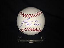 Chestor Cuthbert Signed Official Major League Baseball Kansas City Royals COA