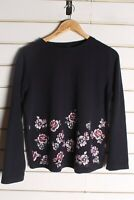 Marks and Spencer Womens Sweater Jumper - Black - Size 12 (EE1)