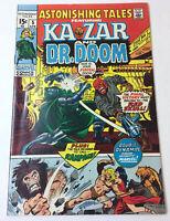 1971 Marvel Comics ASTONISHING TALES #5 ~Ka-Zar And Dr. Doom~ pretty nice shape!