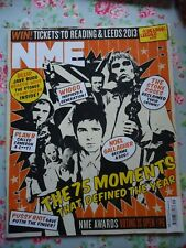 NME Magazine 8 December 2012 includes The 75 Moments that Defined the Year