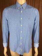 (Used) Mens Tommy Hilfiger Long Sleeve Button Front Shirt Size: M Checks