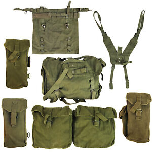 FALKLAND British Army PATTERN 58 Pouch Ammo Bag Webbing Kidney Carrier Olive