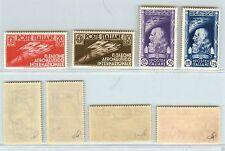 REGNO - 1935 - SALONE AERONAUTICO serie completa 4 valori (384/387) - MH